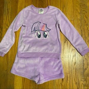 My Little Pony Twilight Sparkle PJs Set Girls 6X